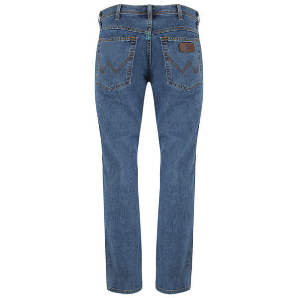 Wrangler stretch jeans regular fit blauw