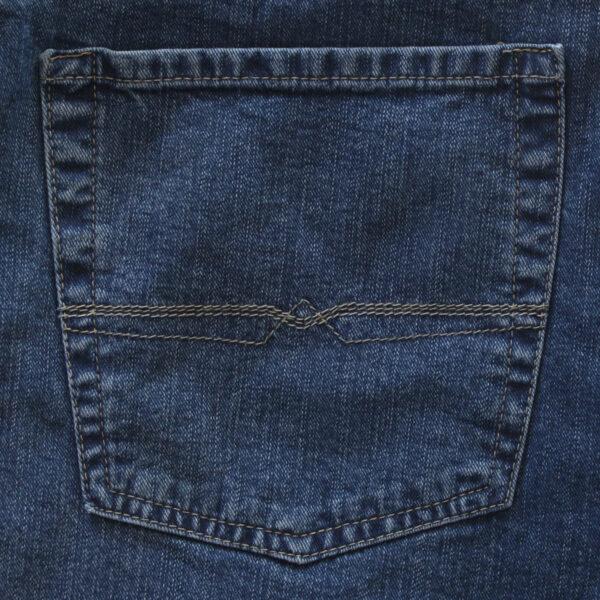 Pionier stretch spijkerbroek blauw