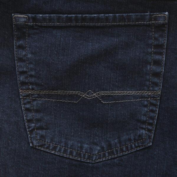 Pionier stretch spijkerbroek donkerblauw