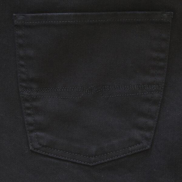 Pionier stretch spijkerbroek zwart