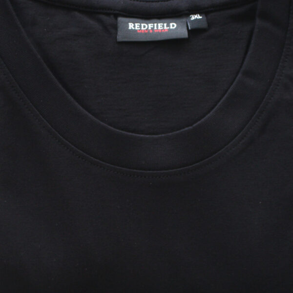 Redfield basic t-shirt zwart